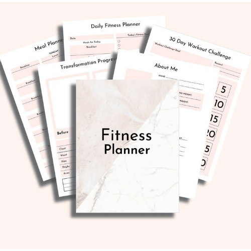 Use a Fitness Planner for your Best Health & Fitness Journey