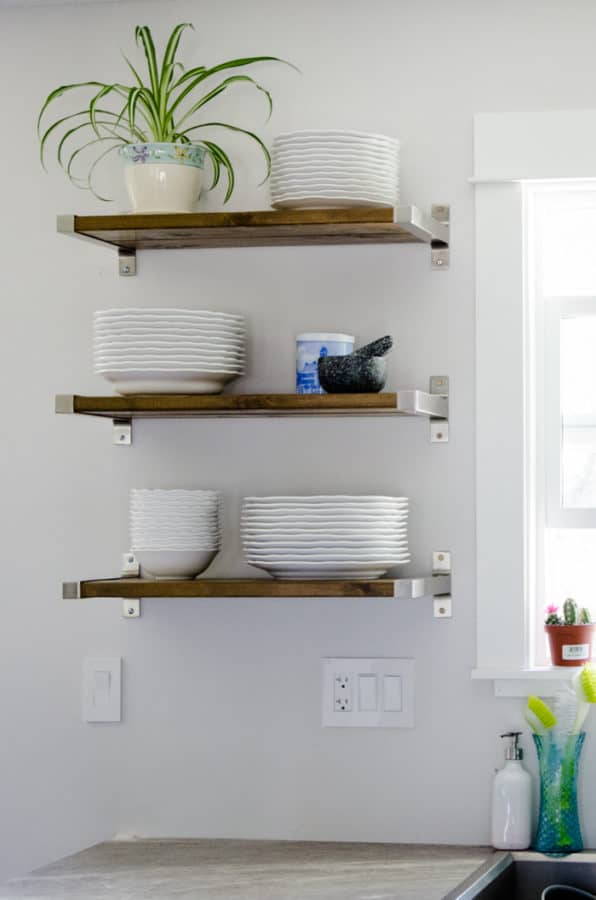 IKEA hacks shelves