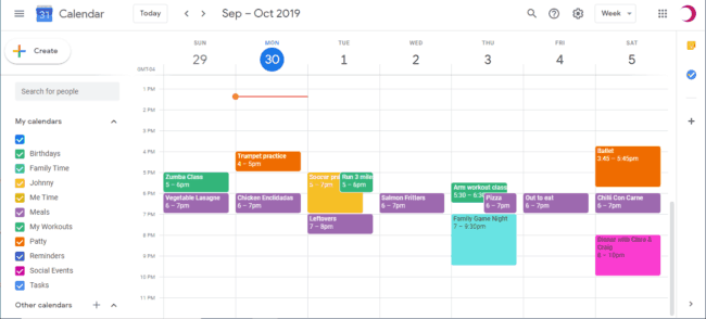 How to use Google Calendar to Create a Family Schedule #Google #GoogleCalendar #time management #schedule