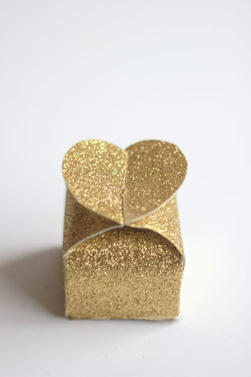 Glitter Heart Box