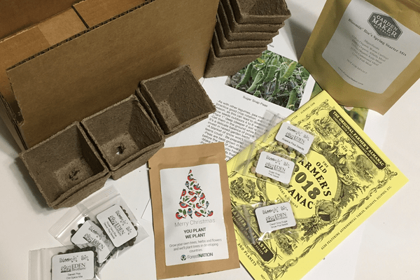 Gardening subscription box