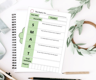 How to set Goals that you will actually follow through on (+ free printable Goal Setting Planner)