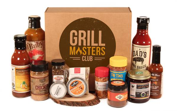 Grill masters subscription box