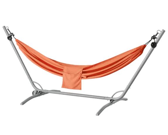 Orange hammock