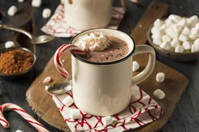 Slow Cooker Hot Chocolate, easy & delicious #SlowCooker #Hot Chocolate #Crockpot