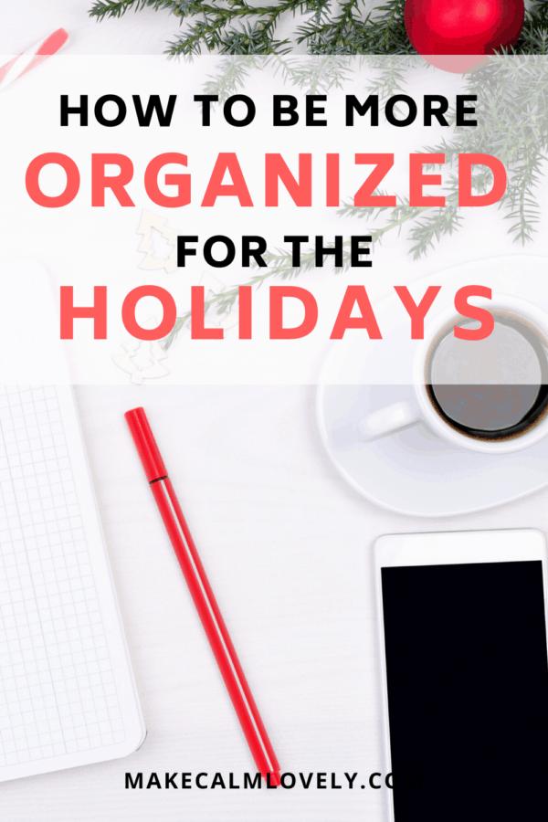 Holiday organization