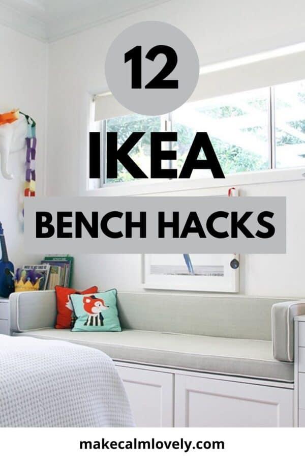 IKEA Bench Hacks