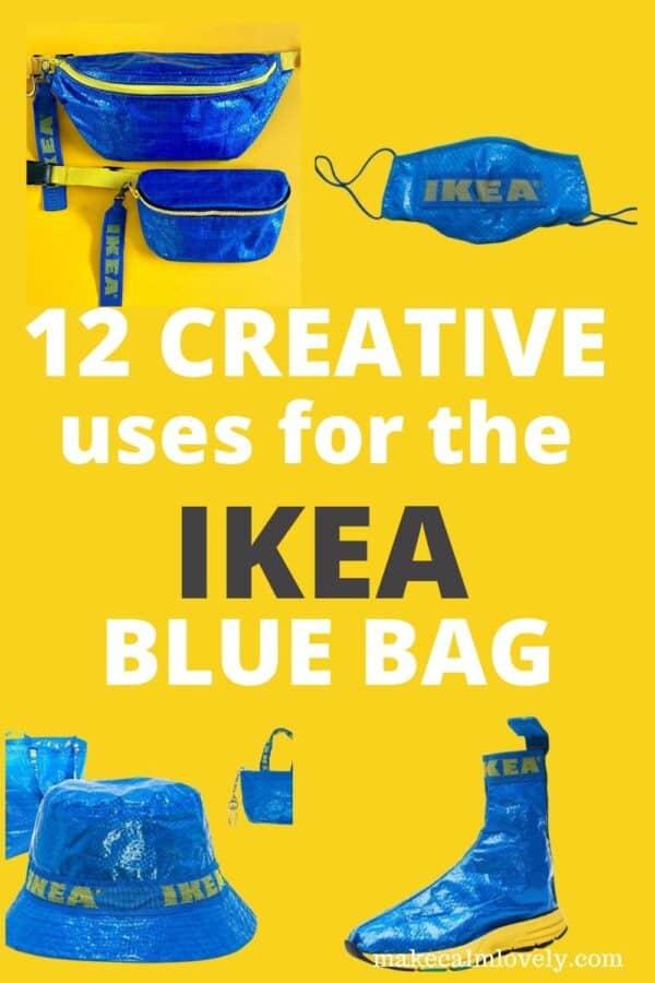 12 Creative uses for the IKEA blue bag