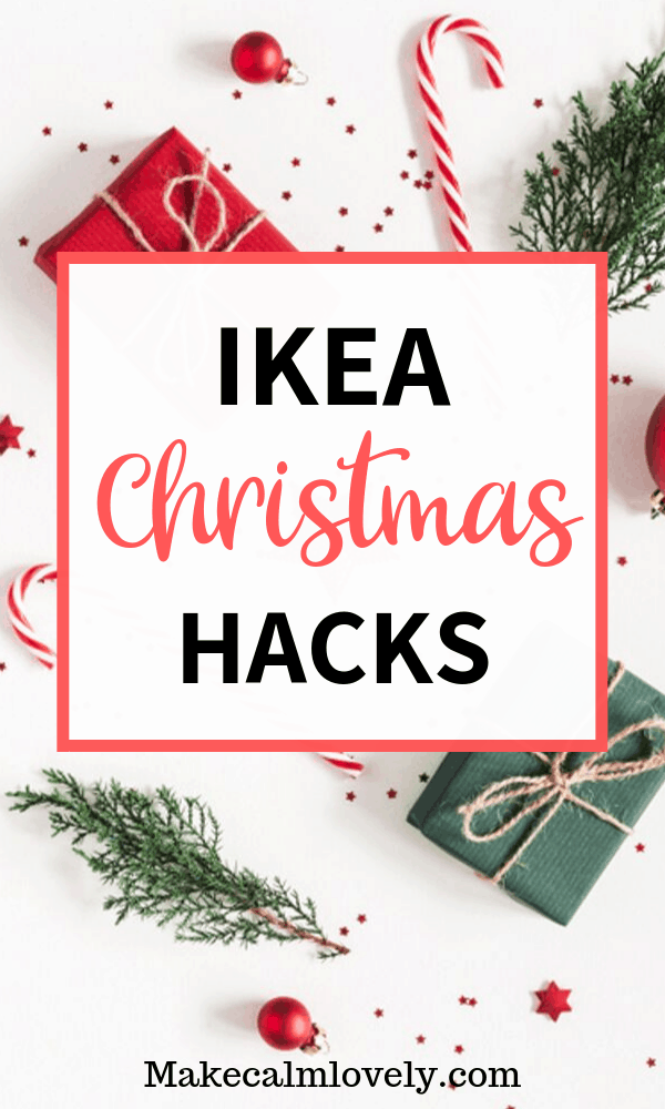 IKEA Christmas Hacks. These great IKEA Christmas hacks are for the most wonderful time of the year! Try these great DIY projects for the holidays #IKEA #IKEAHack #Christmas #Holidays