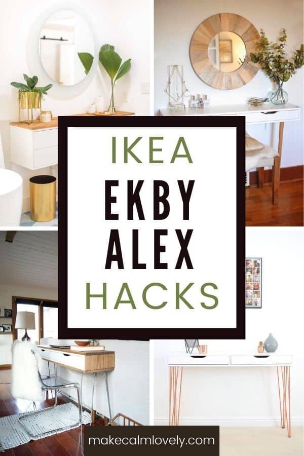 IKEA Ekby Alex Hacks