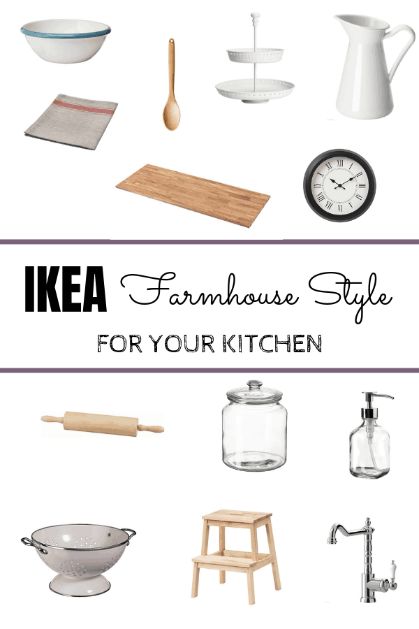 IKEA Farmhouse Style for your Kitchen