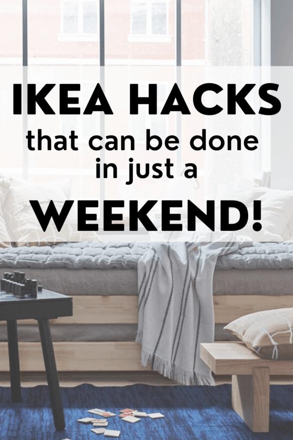IKEA hacks for the weekend