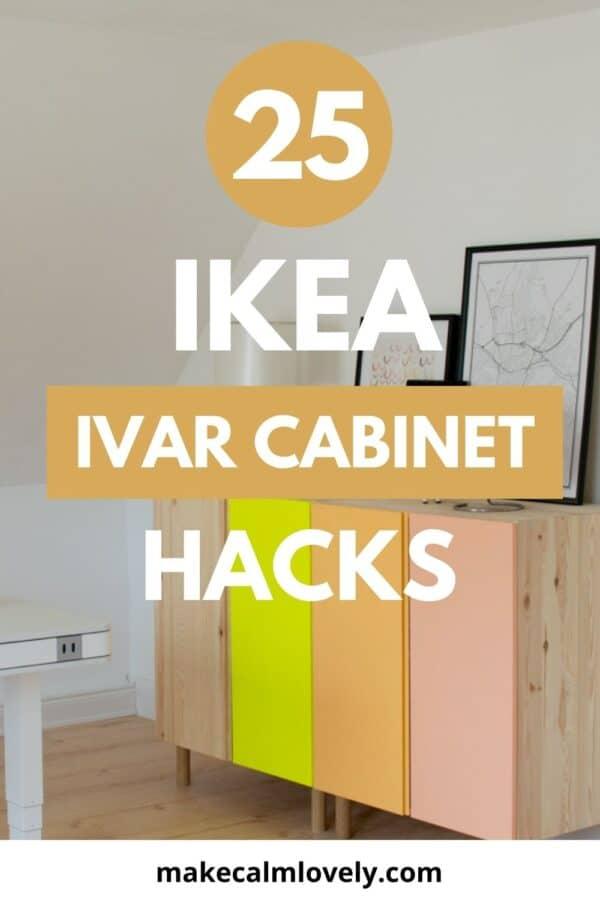 25 increíbles trucos para armarios IKEA Ivar