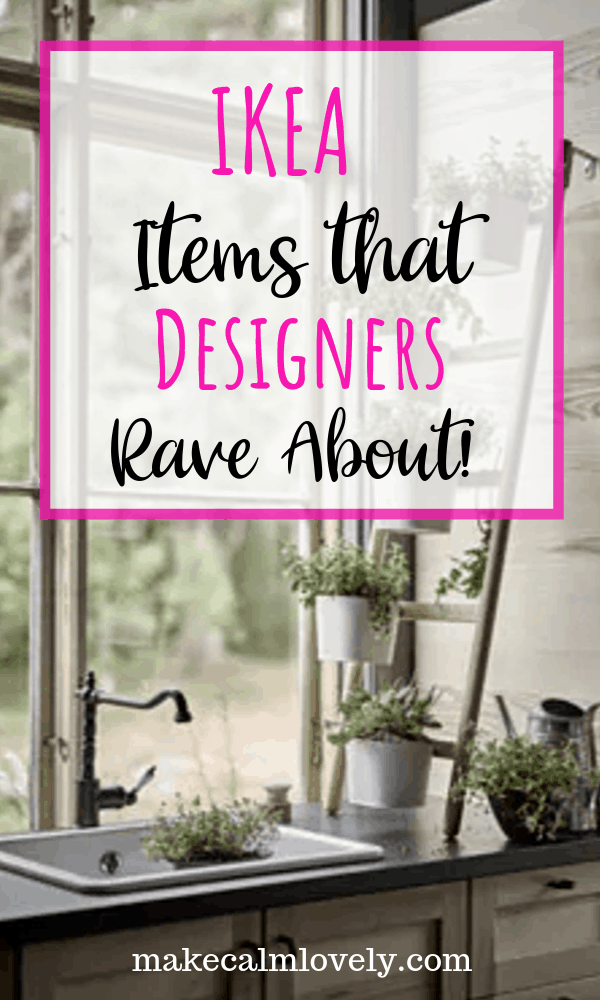 IKEA Items that Designers Rave About #IKEA #Design #Designers
