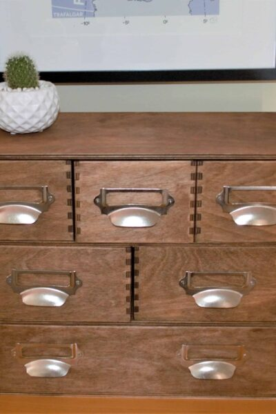 IKEA Moppe Apothecary storage chest DIY