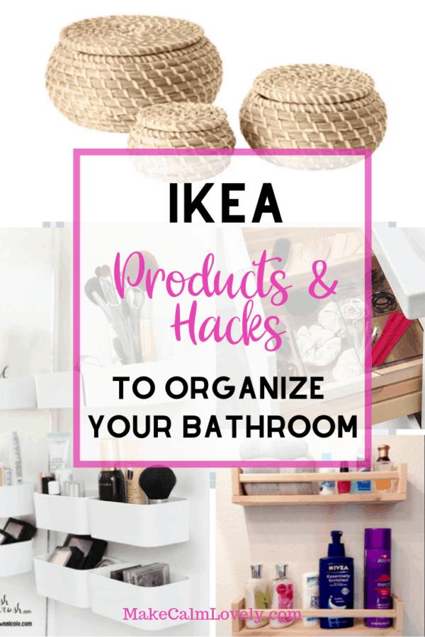 IKEA Bathroom hacks