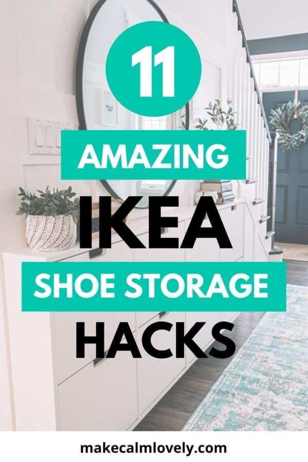 IKEA Shoe Storage Hacks