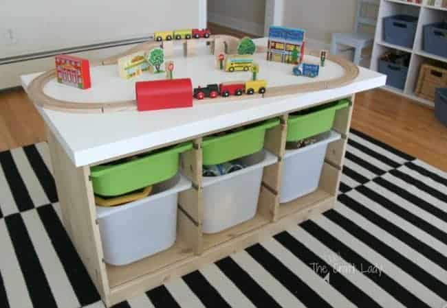 IKEA Hack train and activity table