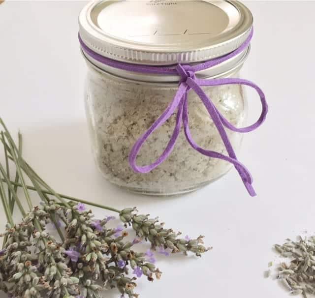 Calming Lavender sugar scrub
