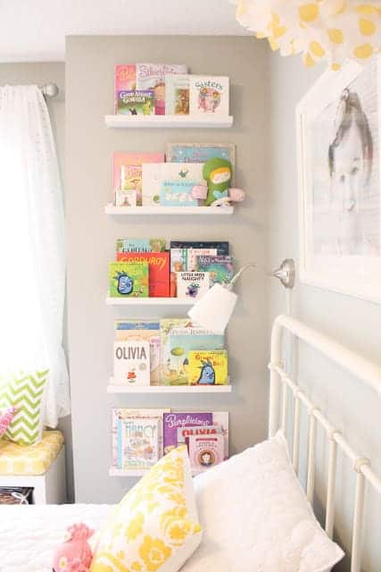 IKEA book shelves hack