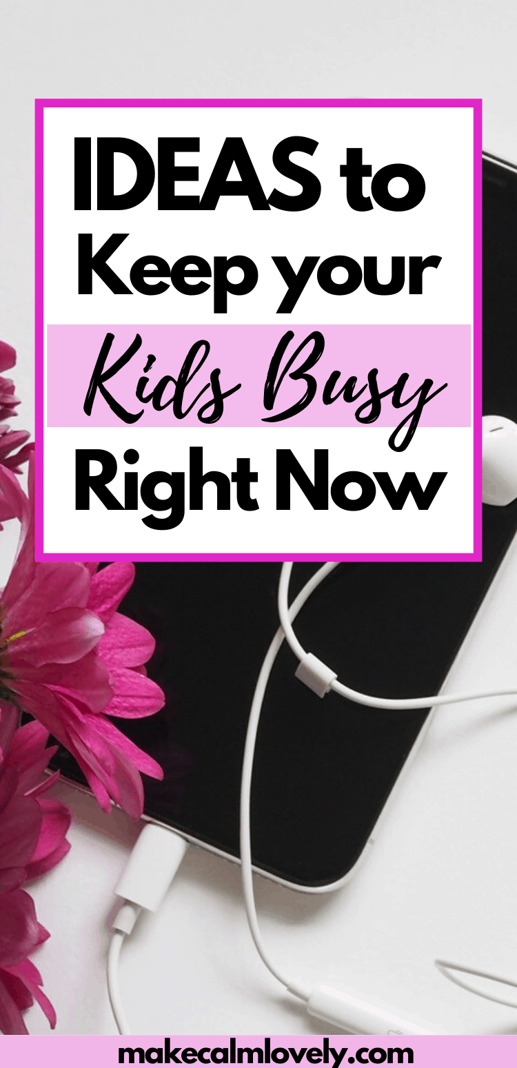 Ideas to keep your kids busy right now. Podcasts are a great way to entertain, educate and keep your kids busy right now