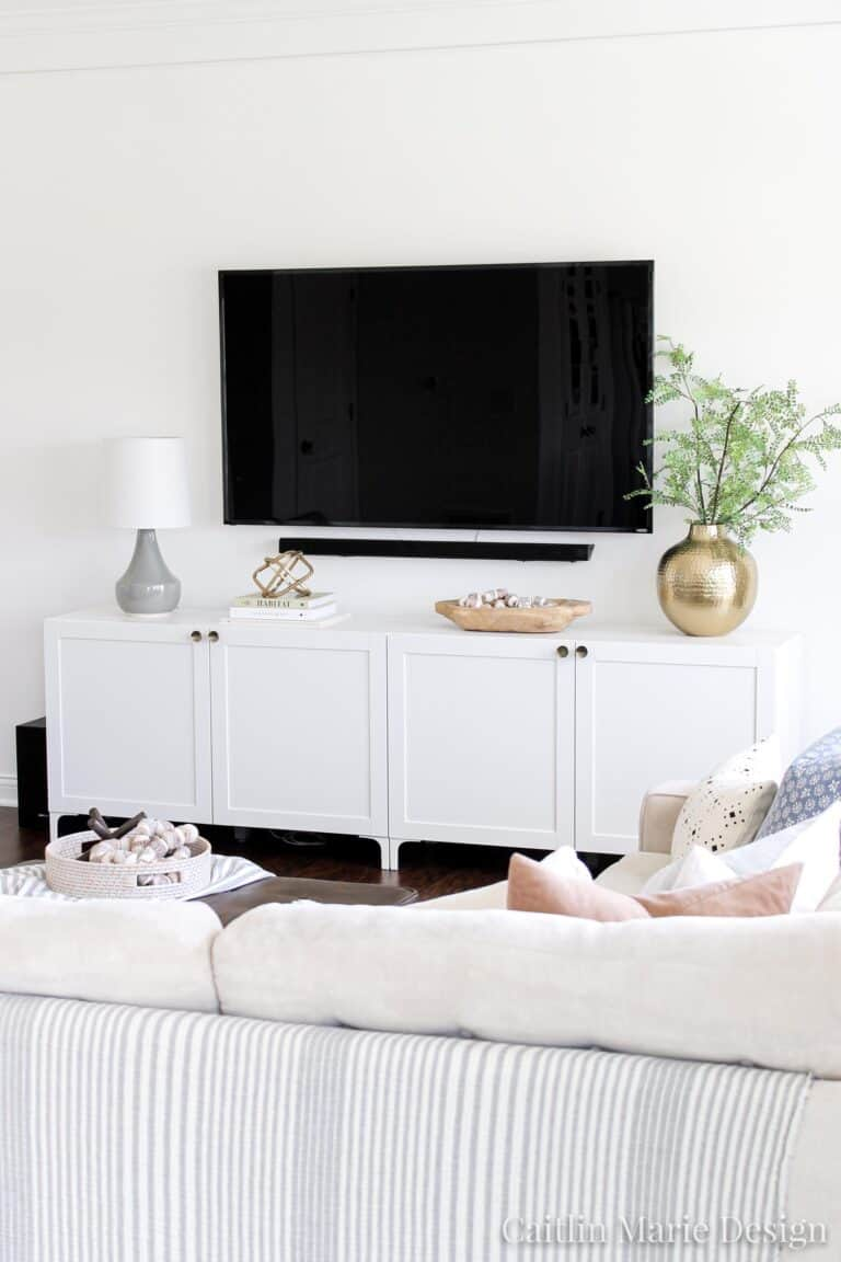 17 TV Stand Media Console IKEA Hacks