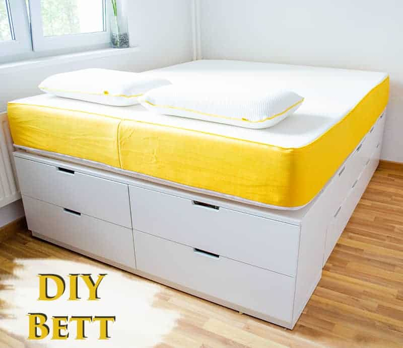 Ikea hack bett bauen tutorial make calm lovely for Tutorial ikea home planner