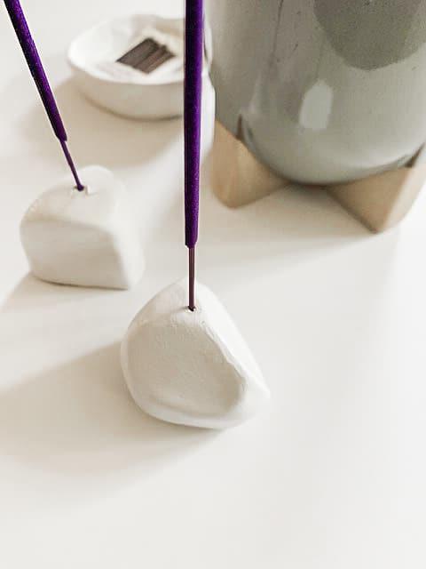 Minimal Geometric Incense Holders DIY