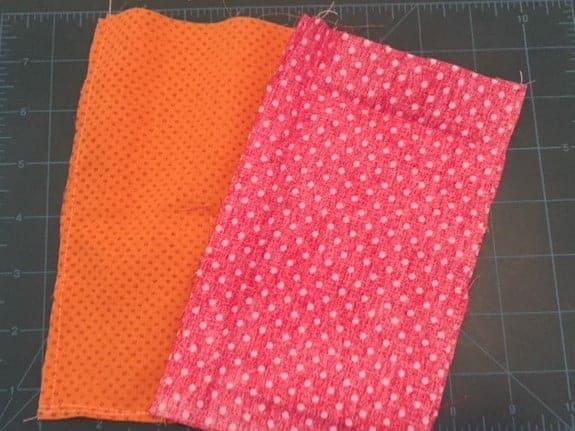DIY glasses case sewing DIY