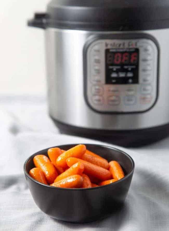 Instant Pot Buttery Sweet Carrots