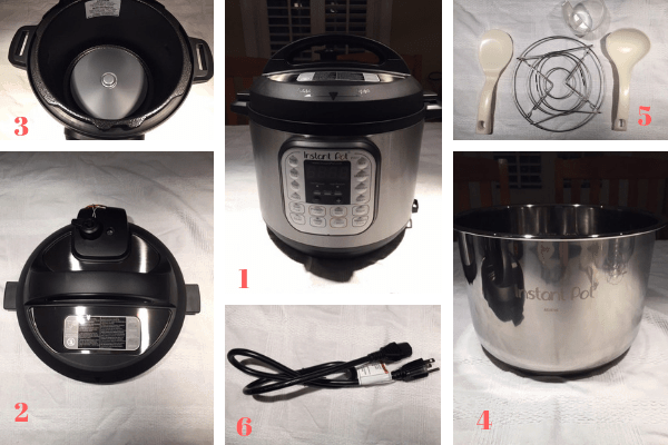 Instant Pot pieces