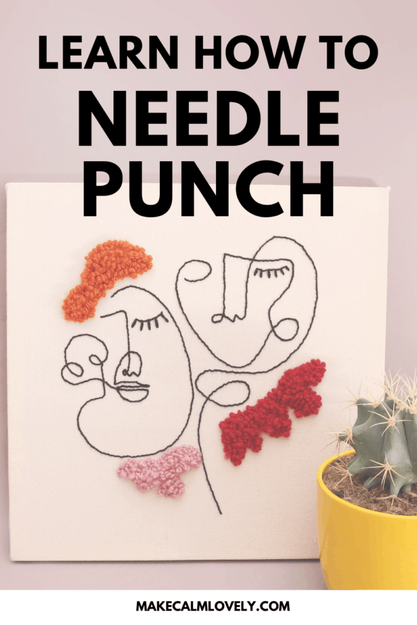 Learn how to Needle Punch