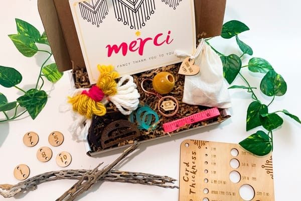 Macrame subscription box