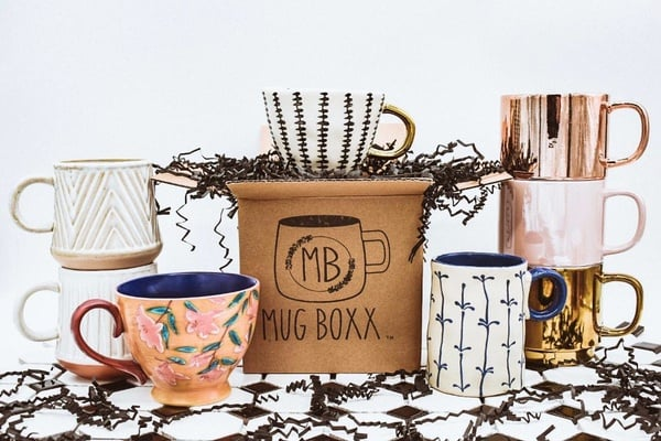Mug subscription box