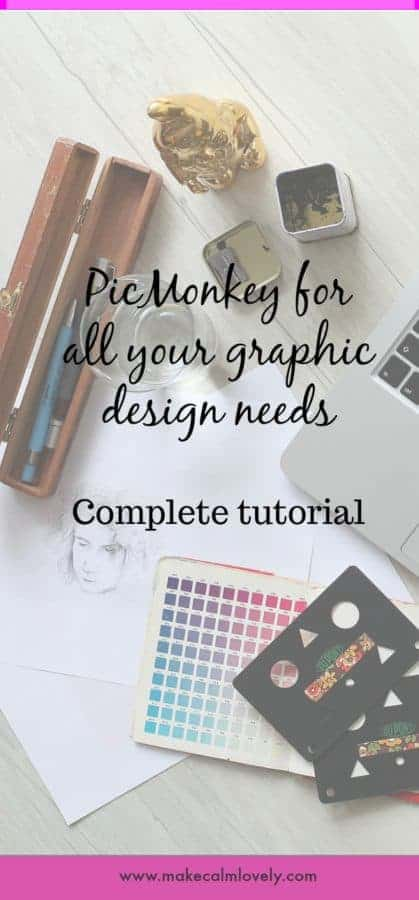 PicMonkey for all your graphic design needs