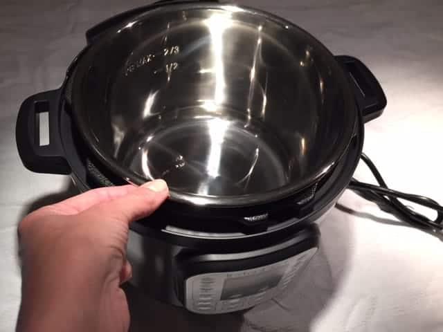 Instant Pot inside pot