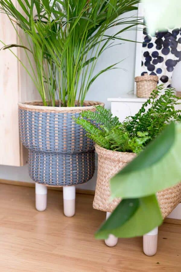 Legged Basket Planters
