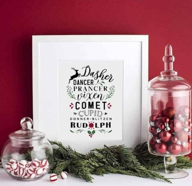 Christmas prints to instantly download now #Christmas #Holidays #prints #instant download #printables #digital #affilate #etsy