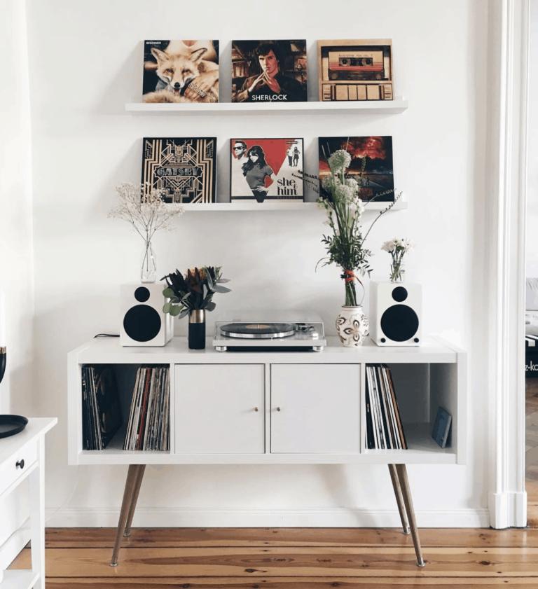 IKEA Hacks & Ideas for Vinyl Record Storage