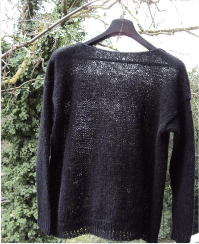 Transparent Pullover