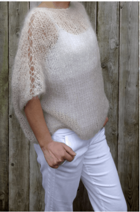 Latte Knitted Sweater