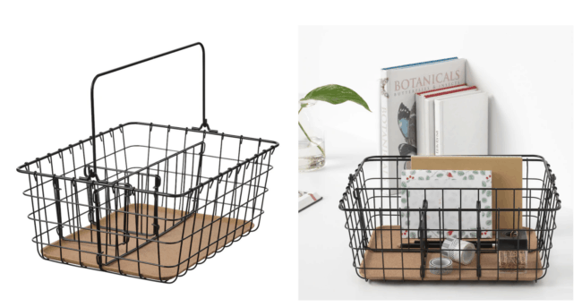 IKEA Pleja Wire Basket with Handles