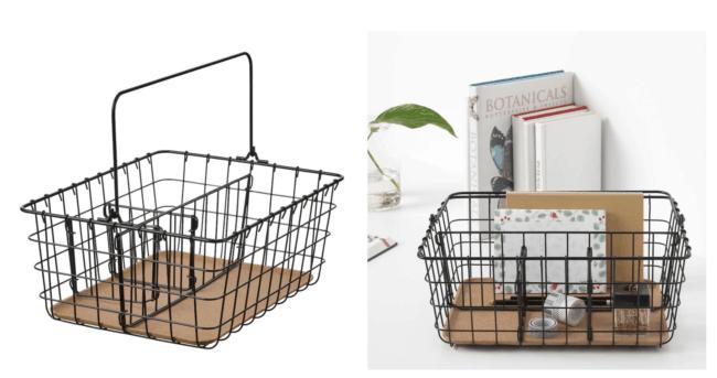 IKEA Pleja Wire Basket with Handles