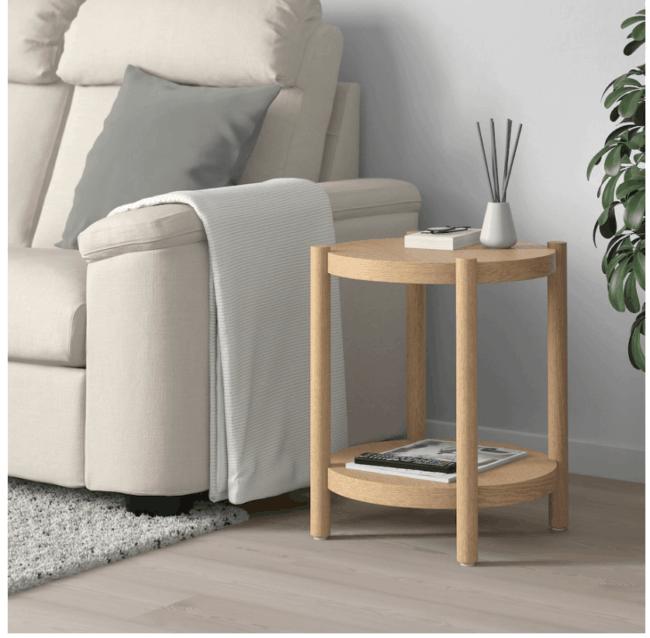 Mesa auxiliar Listerby IKEA