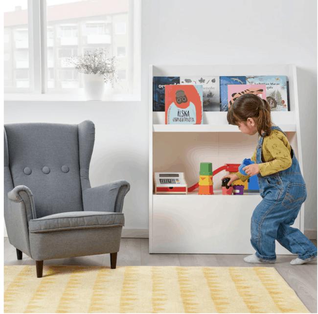 Expositor de libros IKEA Bergig