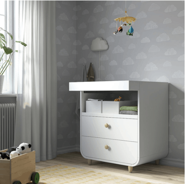 IKEA Myllra changing table