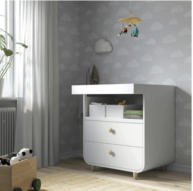 Cambiador IKEA Myllra