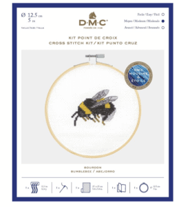 Bumble Bee cross stitch.