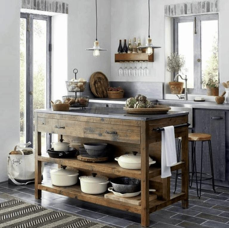 12 IKEA Kitchen Island Hacks that are Useful & Stylish