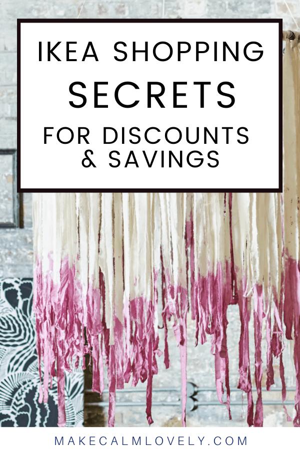 IKEA Shopping Secrets for Discounts and Savings